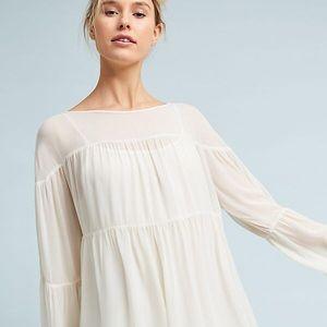 BNWT ANTHROPOLOGIE Lacausa Blossom Cover-Up Dress